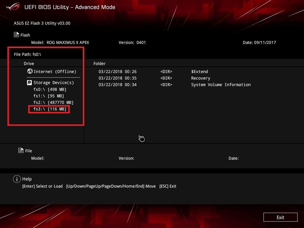 2018年版ASUSマザーボードのBIOSアップデート方法 - PC-take