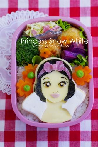 snow white kyaraben