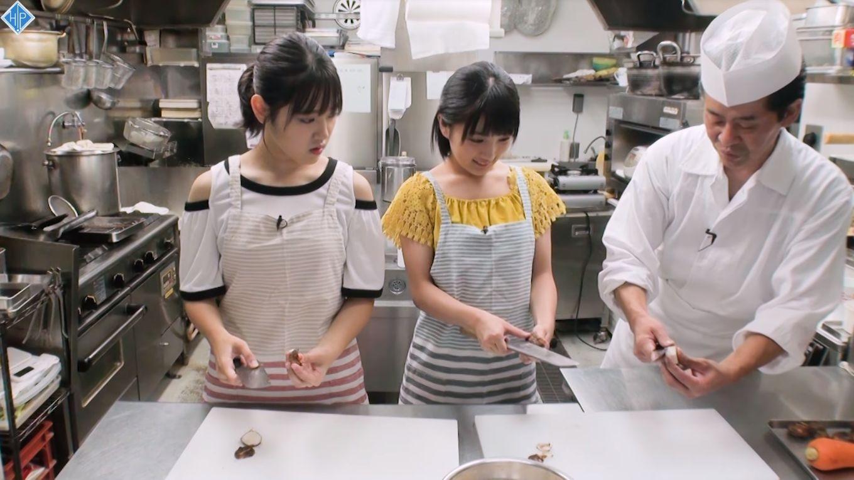 【エンタメ画像】【カントリー・ガールズ】小関舞・船木結のくろっき料理コーナーが面白すぎると俺の中で話題に