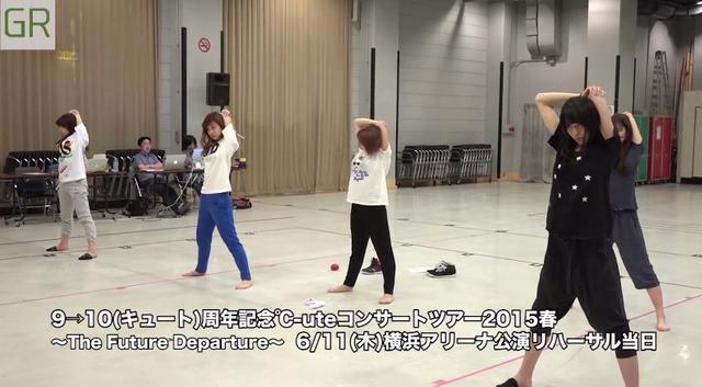 【エンタメ画像】℃-uteのストレッチ映像キタ━━━━(゚∀゚)━━━━!!