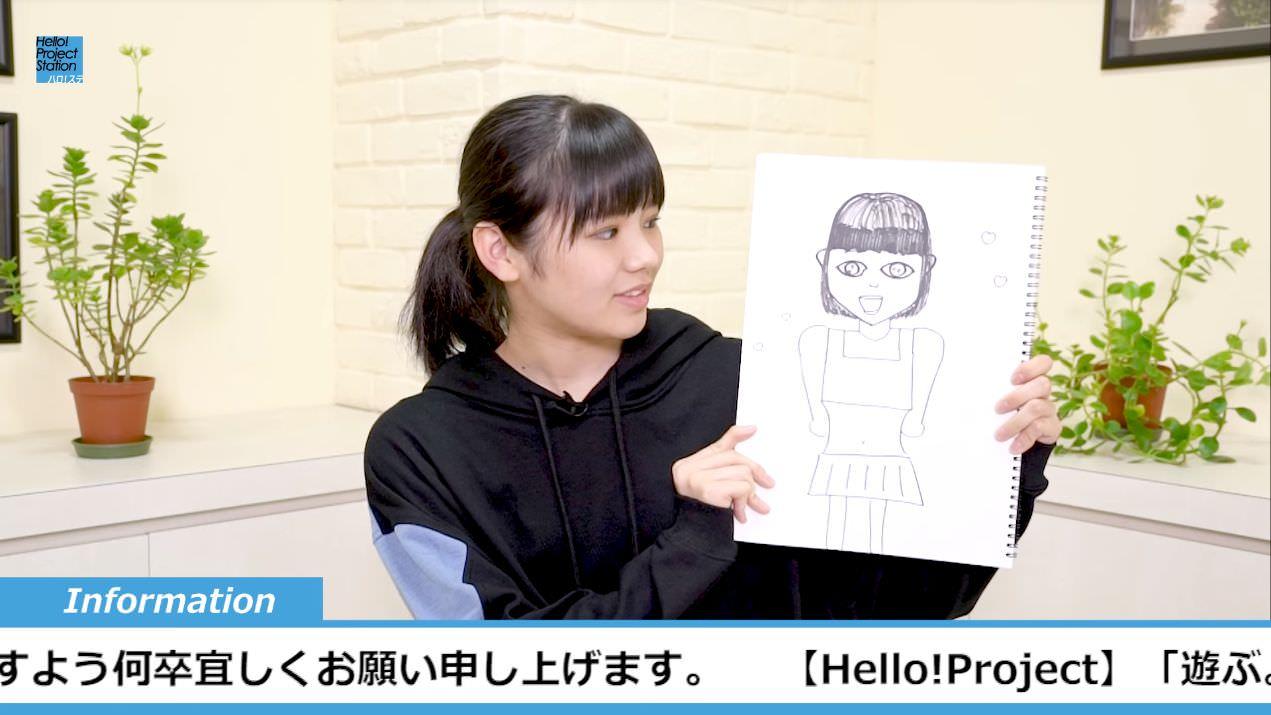 【エンタメ画像】来週のハロステMC似顔絵きたぞ!!!!!!!!!
