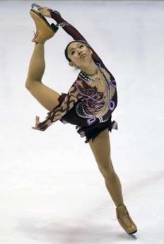 安藤美姫 日米対抗フィギュアスケート