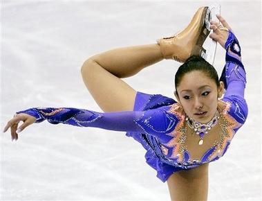 安藤美姫 NHK杯 ショートプログラム