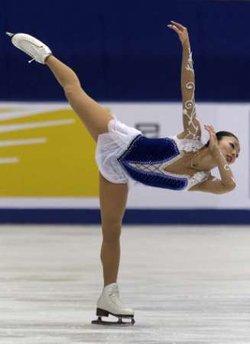 安藤美姫、中国杯フリー