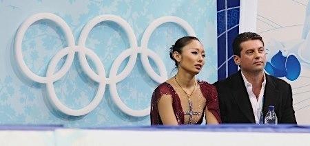 安藤美姫、ニコライ・モロゾフ、バンクーバーオリンピック