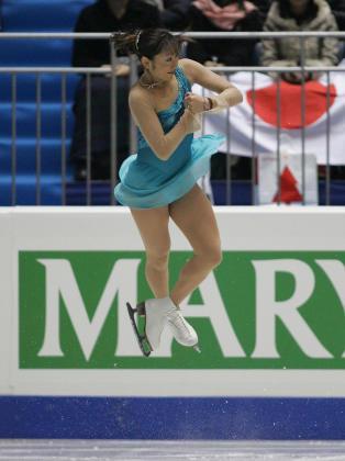 安藤美姫 フィギュアスケート・グランプリシリーズ・ファイナル