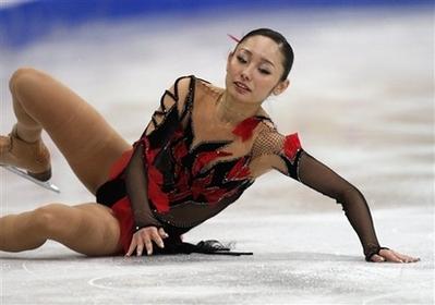安藤美姫 フィギュアスケート世界選手権 フリー