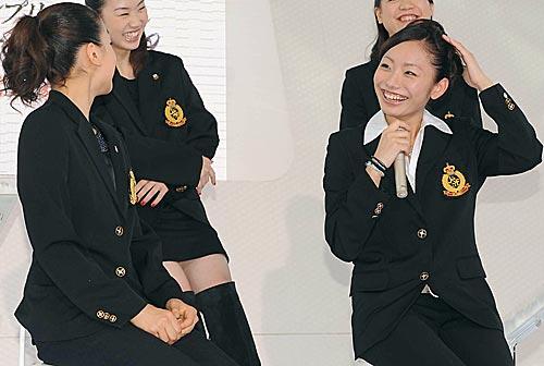 安藤美姫、浅田真央、中野友加里、鈴木明子