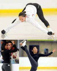 安藤美姫、きれいなヒップライン、ニコライ・モロゾフ、バンクーバーオリンピック
