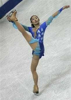 安藤美姫 フィギュアスケート世界選手権 SP