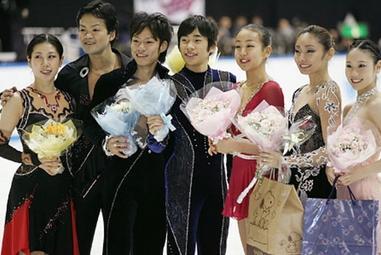 安藤美姫 全日本選手権 世界選手権代表選手