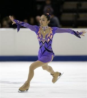 安藤美姫 スケートアメリカ SP