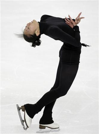 安藤美姫、スケートアメリカ、公式練習