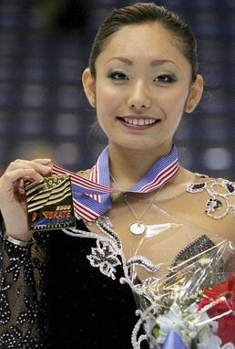 安藤美姫 スケートアメリカ優勝