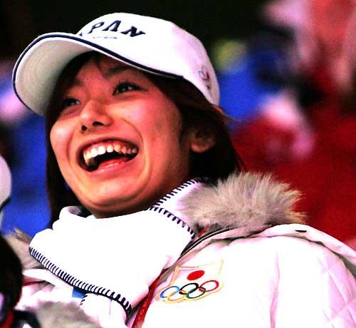 安藤美姫 2006年トリノ五輪閉会式07