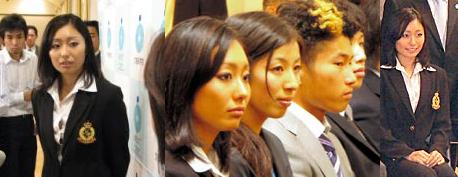 安藤美姫、国際競技大会優秀者等表彰式(文部科学省)