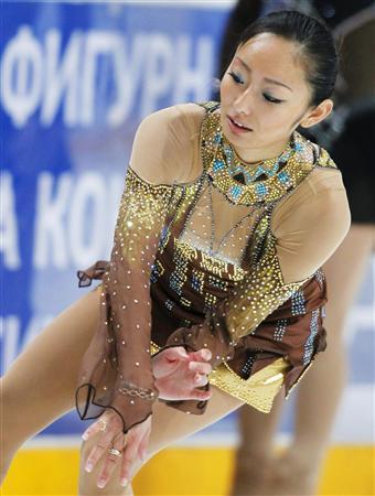 安藤美姫  GPシリーズ ロシア杯