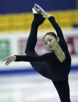 安藤美姫、練習、韓国、GPファイナル
