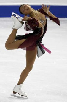 安藤美姫、世界フィギュアスケート選手権