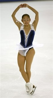 安藤美姫、スケートアメリカ、3位