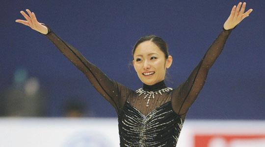 安藤美姫 GPシリーズ 中国杯