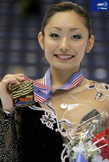 安藤美姫 スケートアメリカ(GPシリーズ)2007