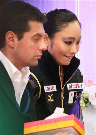 安藤美姫 ニコライ・モロゾフ GPシリーズ NHK杯