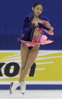 安藤美姫、中国杯SP