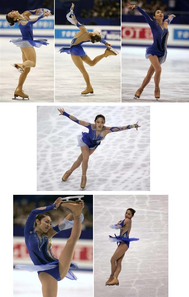 安藤美姫 ショートプログラム(SP):フィギュアスケート世界選手権