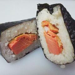 粗ほぐし紅鮭はらみ