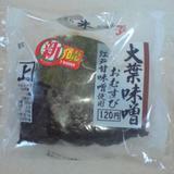 大葉味噌おむすび 江戸甘味噌使用