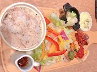 All day dining Hikariプレートランチ