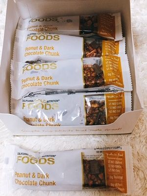 California Gold Nutritionピーナッツ&ダークチョコレートチャンク