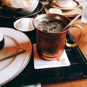 桜珈琲アイスコーヒー