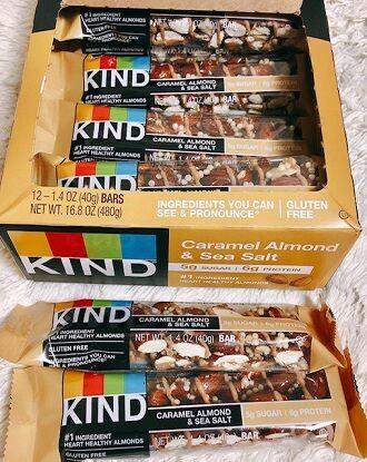 KIND Bars, Nuts & Spices, Caramel Almond & Sea Salt,