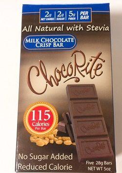 , チョコライト、ミルクチョコレート・クリスプバー