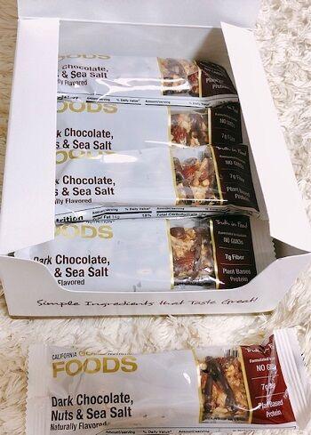 ダークチョコレートナッツ&海塩バー