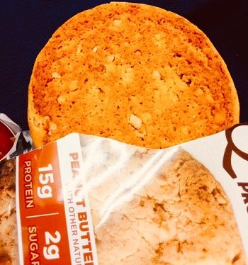 Questプロテインクッキー、ピーナッツバター