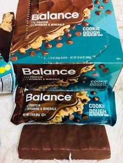Balance Bar, 栄養補給バー、生クッキー味 味