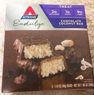 Atkins, エンダルジ、チョコレートココナッツバー