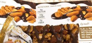 California Gold Nutritionダークチョコレートナッツ & 海塩バー