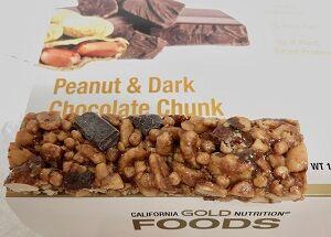 ピーナッツ&ダークチョコレートチャンク