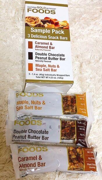 3Delicious Snack Bars
