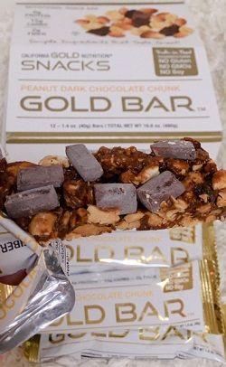 ゴールドバーピーナッツダークチョコレートチャンク