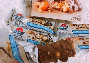 アトキンスバーキャラメルチョコレートナッツ