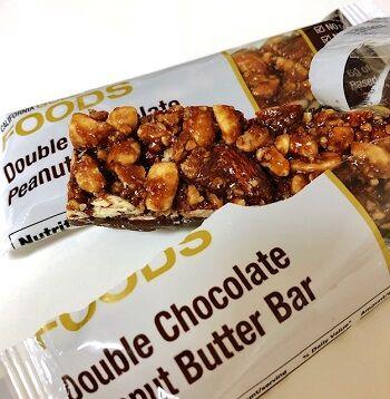 カリゴールドプロテインバーダブルチョコレートピーナッツバター