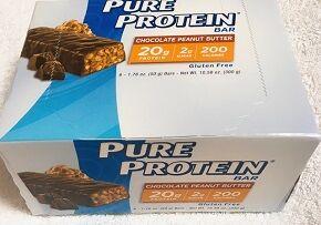 Pure Protein, チョコレートピーナッツバター・バー