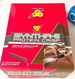 BSN, シンサ6プロテインクリスプ、チョコレートクランチ味 2