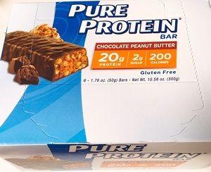 Pure Proteinチョコレートピーナッツバター・バー