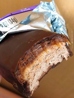 アトキンスチョコレートキャラメルムースバー